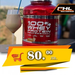 Scitec 100 % Whey Protein Professional