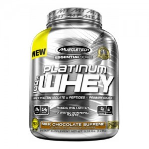 MuscleTech Essentials series Platinum 100% Whey цена