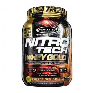 MuscleTech Nitro-Tech 100% Whey Gold цена