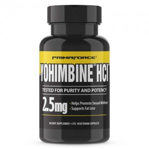 Primaforce Yohimbine HCL 2.5 mg