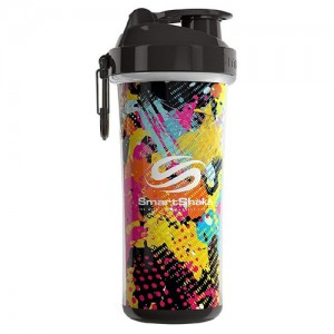 SmartShake Double Wall Shaker Cup Jungle Graffiti
