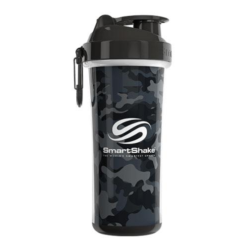 SmartShake Double Wall Shaker Cup Camo Gray
