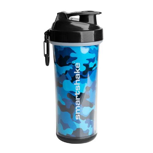SmartShake Double Wall Shaker Cup Camo Blue