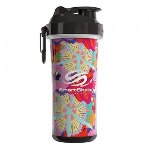 SmartShake Double Wall Shaker Cup Flower Power