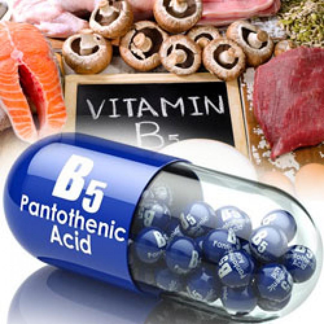 fitness dobavki Витамин Б5