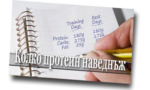 Колко Протеин се усвоява наведнъж