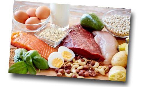 Храни Протеини - таблица